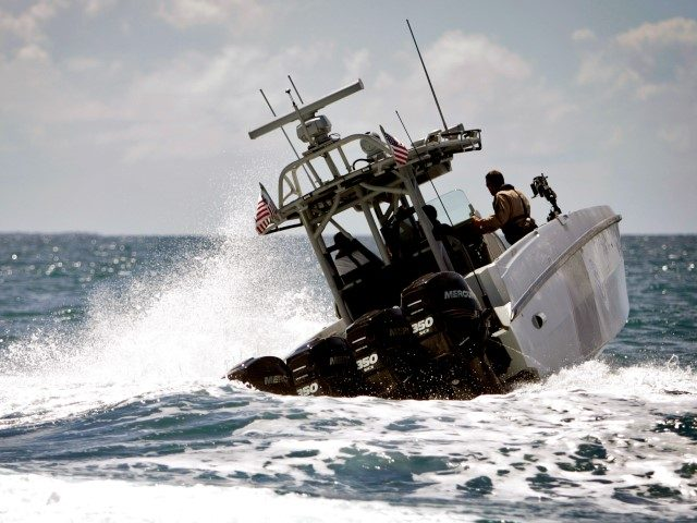 Border Patrol Boat off the coast of Puerto Rico. (AP File Photo/Ricardo Arduengo)