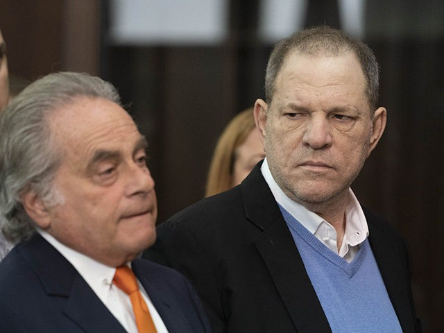 Harvey Weinstein, right, listens to his attorney, Benjamin Brafman, in court in New York on Friday, May 25, 2018. Weinstein was arraigned Friday on rape and other charges in the first criminal prosecution to result from the wave of allegations against him that sparked a national reckoning over sexual misconduct. …