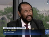 Dem Rep Al Green: 'Good Likelihood' Dems Will Impeach Trump If We Retake the House