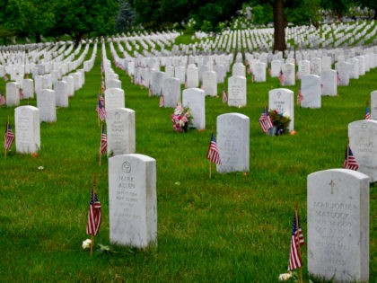 More than 400,000 military members and their families are buried at Arlington National Cemetery. (Penny Starr/Breitbart News)