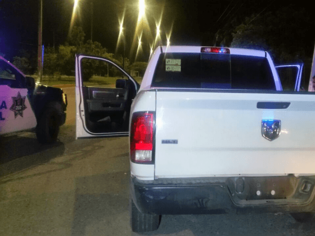 Vehicle seized from a border state police director after a drunken assault on cops.