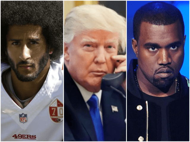 Trump Reportedly '100 Percent' for Race Summit With Kaepernick, Kanye