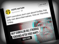 Bill Etheridge UKIP, Hope Not Hate (HNH)