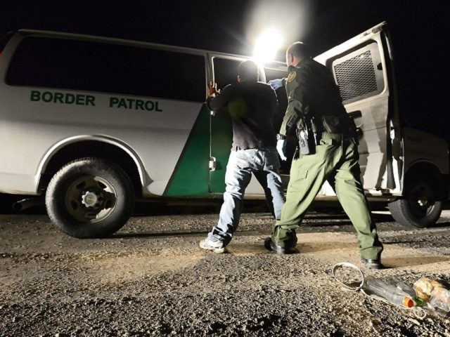 Border Patrol Agent makes arrest - Getty File Photo