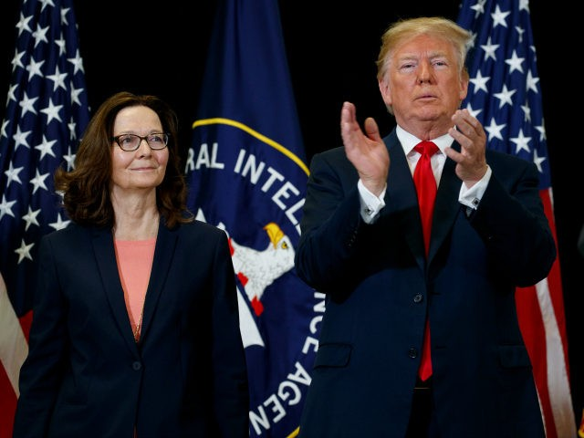 Gina Haspel sworn in as first female Central Intelligence Agency director