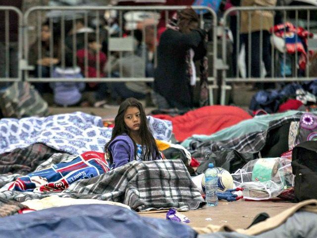 Child in Caravan