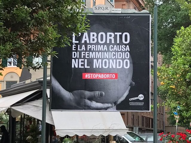 CitizenGo anti-abortion campaign
