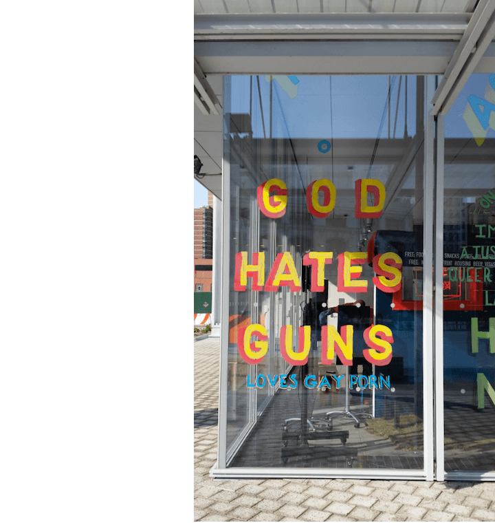 Columbia University God Hates Guns