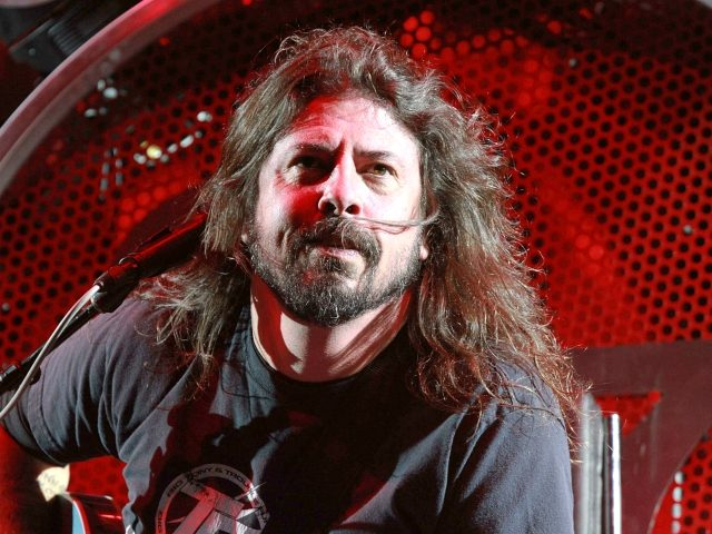 Dave Grohl with Foo Fighters performs at Centennial Olympic Park on Sunday, October 4, 2015, in Atlanta. (Photo by Robb D. Cohen/Invision/AP)