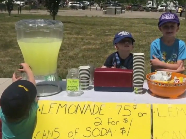 Young boys selling lemonade faced an unpleasant surprise when the Denver police shut down their lemonade stand for not obtaining a permit.