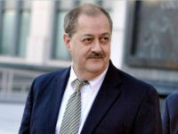 In this Nov. 24, 2015, file photo, former Massey Energy CEO Don Blankenship walks out of the Robert C. Byrd U.S. Courthouse in Charleston, W.Va. West Virginia gave Trump his widest margin of any state in 2016, a 42-percentage point pounding of Democrat Hillary Clinton that had Republicans giddy over …