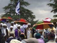 Ethiopian prayer leaders (Joel Pollak / Breitbart News)