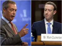 Farage: 'Facebook made Brexit possible – but Now It Is Discriminating Against Right-wing News Sites'