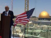 Friedman and Dome (Joel Pollak / Breitbart News)