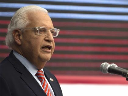 Trump Envoy David Friedman: U.S. Has Thrown $10 Billion at Palestinians But Peace Is No Closer
