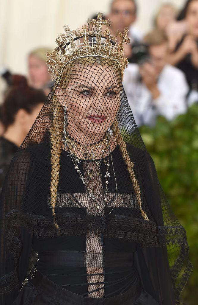 Madonna at Met Gala 2018