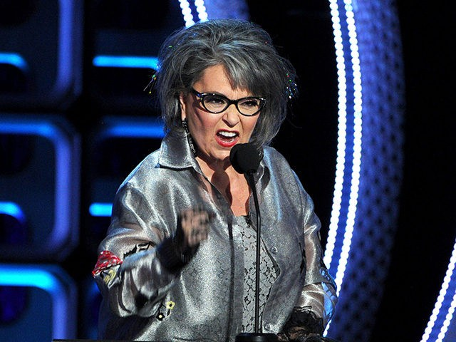 HOLLYWOOD, CA - AUGUST 04: Roastee Roseanne Barr onstage during the Comedy Central Roast of Roseanne Barr at Hollywood Palladium on August 4, 2012 in Hollywood, California. (Photo by Kevin Winter/Getty Images)