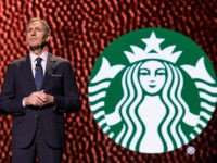 SEATTLE, WA - MARCH 22: CEO Howard Schultz pauses while speaking during the Starbucks annual meeting of shareholders on March 22, 2017 in Seattle, Washington. The 25th annual meeting will be the last for Schultz as CEO. (Photo by Stephen Brashear/Getty Images)