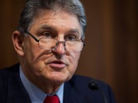 WASHINGTON, DC - MARCH 28: Sen. Joe Manchin (D-WV) speaks during a Senate Energy Subcommittee hearing discussing cybersecurity threats to the U.S. electrical grid and technology advancements to maximize such threats on Capitol Hill on March 28, 2017 in Washington, D.C. (Photo by Zach Gibson/Getty Images)