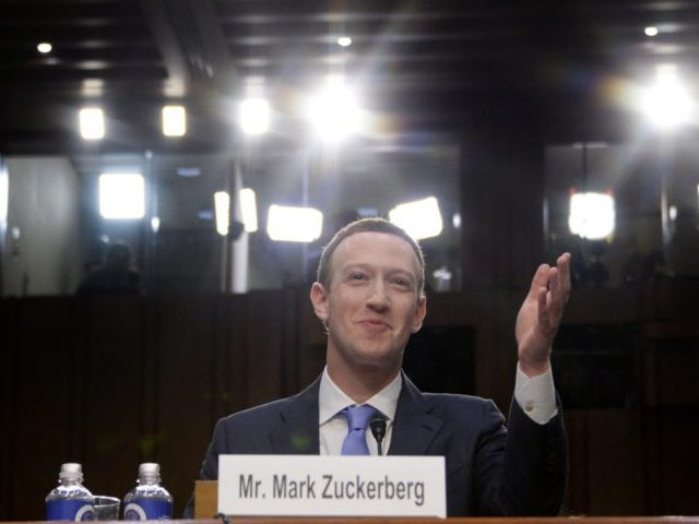 Facebook CEO Mark Zuckerberg testifies before a joint hearing of the US Senate Commerce, Science and Transportation Committee and Senate Judiciary Committee on Capitol Hill, April 10, 2018 in Washington, DC. / AFP PHOTO / JIM WATSON (Photo credit should read JIM WATSON/AFP/Getty Images)