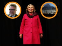 AUCKLAND, NEW ZEALAND - MAY 07: (EDITOR'S NOTE: Alternative crop of image #955549888) Hillary Rodham Clinton arrives to speak during An Evening with Hillary Rodham Clinton at Spark Arena on May 7, 2018 in Auckland, New Zealand. The former US Secretary of State and Democratic presidential candidate, who lost the …