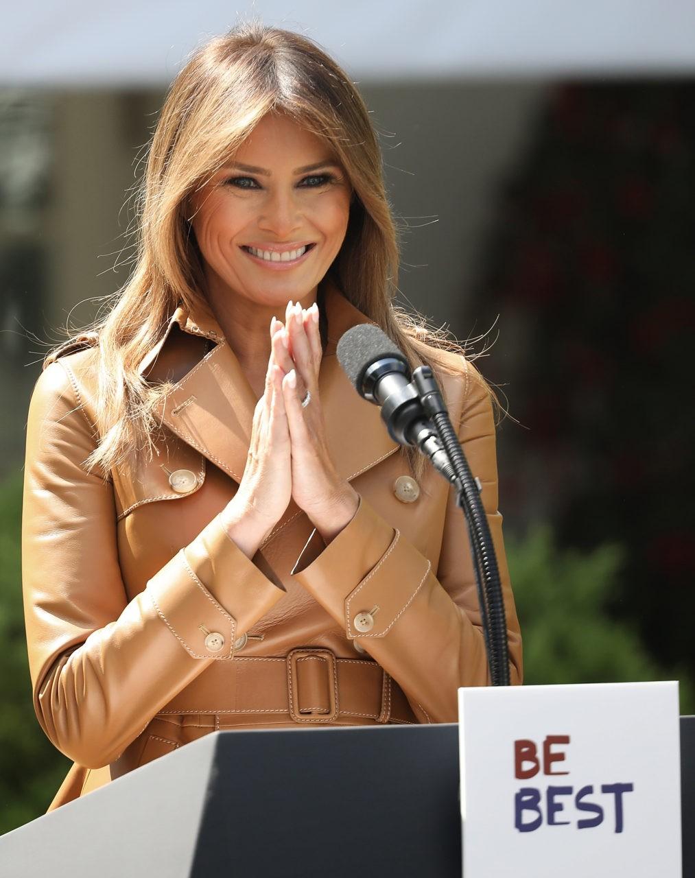 USA: Melania Trump dit tout sans tabou sur son secret beauté