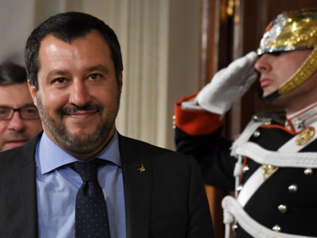 Italian populists seal coalition pact in challenge to European Union  elites