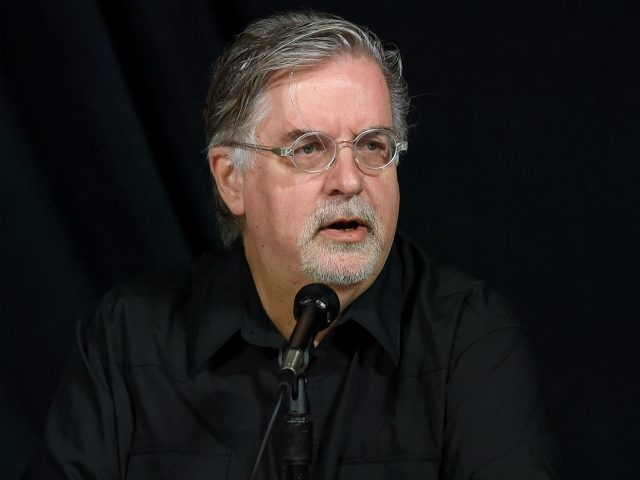 Writer/producer Matt Groening attends FOX's 'The Simpsons' panel during Comic-Con International 2014 at the San Diego Convention Center on July 26, 2014 in San Diego, California. (Photo by Ethan Miller/Getty Images