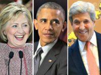 Hillary, barack-obama,John Kerry