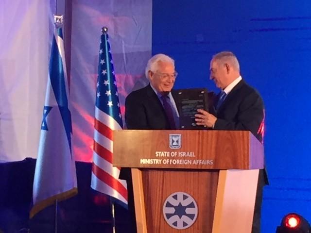 PM Netanyahu Thanks Amb. Friedman (Joel Pollak / Breitbart News)