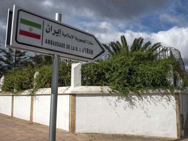 Iran embassy Morocco (Fadel Senna / AFP / Getty)