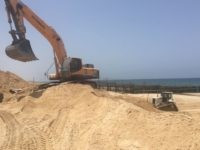 Israeli Builds 'Border' Wall near Gaza -- Underwater