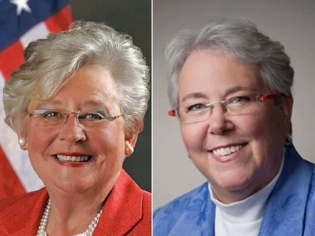 AL Gov. Kay Ivey Denies Claim She's Gay