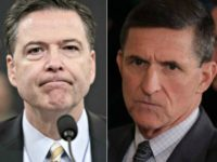 James Comey, Michael Flynn J. Scott Applewhite