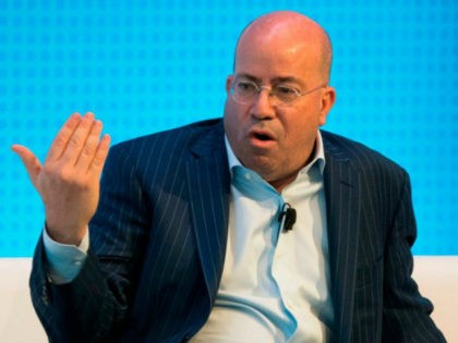 Jeff Zucker, President of CNN, is interviewed during a Financial Times Future of News event March 22, 2018 in New York. / AFP PHOTO / Don EMMERT (Photo credit should read DON EMMERT/AFP/Getty Images)