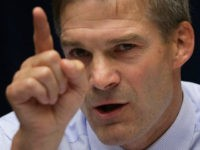 "WASHINGTON, DC - JULY 09: U.S. Rep. Jim Jordan (R-OH) speaks during a hearing before the Government Operations Subcommittee of the House Oversight and Government Reform Committee July 9, 2014 on Capitol Hill in Washington, DC. The subcommittee held a hearing on ""Examining Solutions to Close the $106 Billion Improper …"