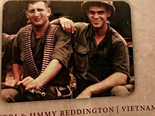 Jimmy Reddington, Vietnam