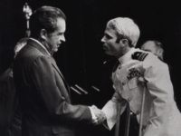 John McCain meeting Nixon (Harvey Georges / Associated Press)
