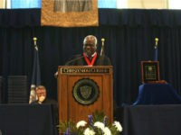 U.S. Supreme Court Justice Clarence Thomas urged graduates at Christendom College to hold fast to their Catholic faith — even when tempted to abandon it.