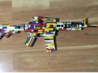 Legos toy rifle
