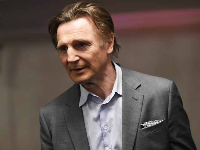 Liam Neeson attends the Jameson Empire Awards 2015 at the Grosvenor House Hotel on March 29, 2015 in London, England. (Photo by Gareth Cattermole/Getty Images)