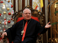 "In this Monday, Dec. 18, 2017 photo, Louis Raphael Sako, Chaldean Patriarch speaks during an interview with The Associated Press in Baghdad, Iraq. The head of Iraq's Chaldean Church says that battling extremist ""mentality"" is key to peaceful coexistence among Iraq's religious and ethnic groups as the nation emerges from …"