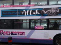 Manchester Bus Allah
