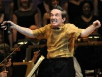 Actor Martin Short, as character Ed Grimley, performs during The New York Pops 31st Birthday Gala at Carnegie Hall on April 28, 2014 in New York City. (Photo by Brad Barket/Getty Images)