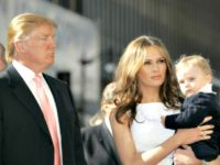 Melania and Baby