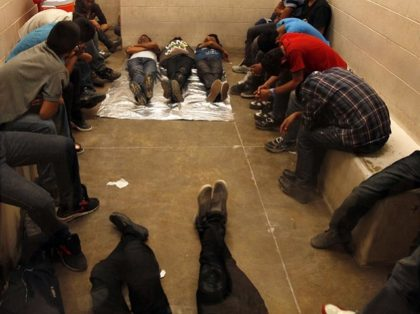 Migrants in Jail - AP Photo