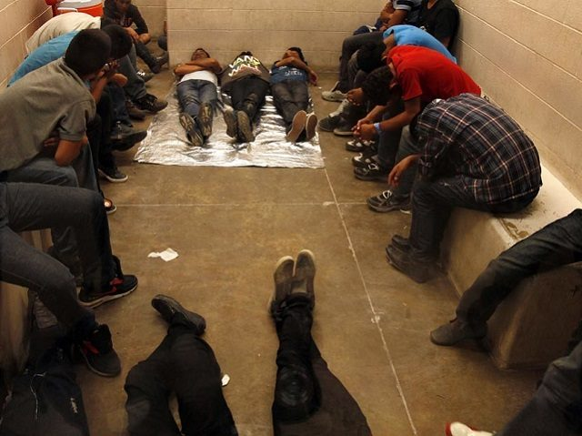 Migrants in Jail - AP Photo