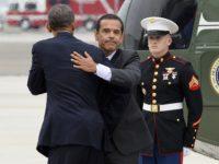 Obama Villaraigosa (Jewel Samad / AFP / Getty)