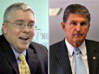 Patrick Morrisey, Joe Manchin