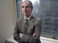 "nnial Nobel candidate. But the documentary ""Philip Roth: Unmasked"" leaves out Roth's news-making decision, which he revealed last fall, to stop writing novels. He is presented as an active writer, with shots of him at work in his Connecticut home. (AP Photo/Joe Tabbacca, File)"